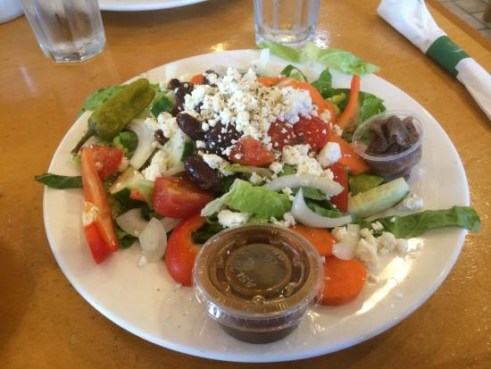 Winnetka, IL: OUTSTANDING Greek Salad