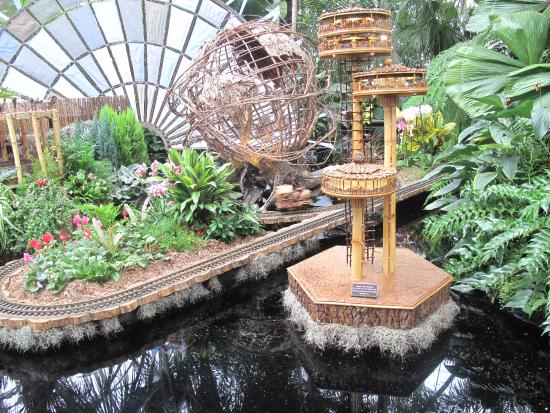 New York Botanical Garden: An Awesome Time At The Holiday Train Show @ NY  Botanical