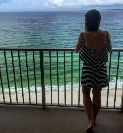 Gulf Crest: Watching dolphins from apartment 1905