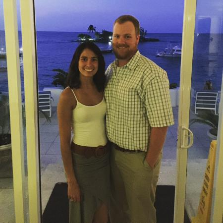 Couples Tower Isle: Before dinner at reserved restaurant