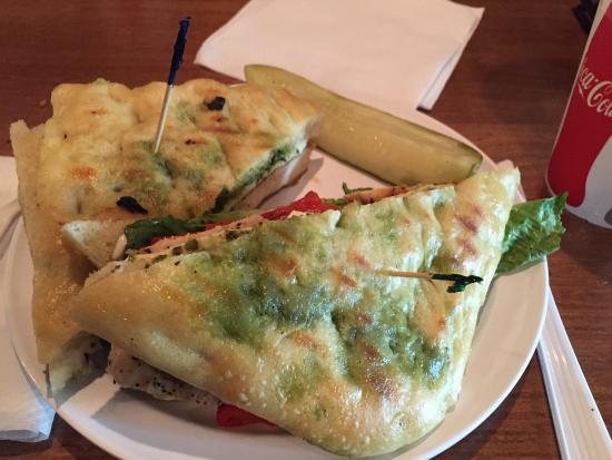 Glenmont, Нью-Йорк: Italian grilled chicken panini