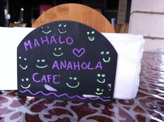 Anahola Cafe