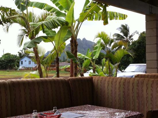 Anahola, HI: View of Mt. Kalalea