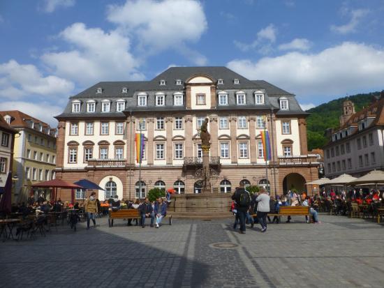 Ritterstube: Stadhuis op de Marktplatz