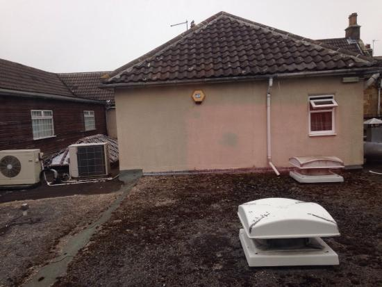 Great Broughton, UK: View from bedroom window
