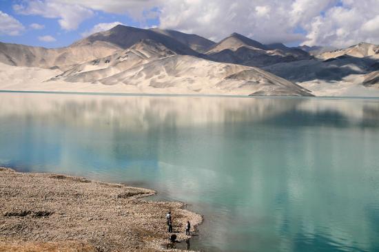 Khorog, Tajikistan: озеро