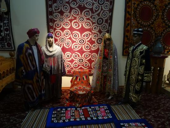 Penjikent, Tajikistan: музей