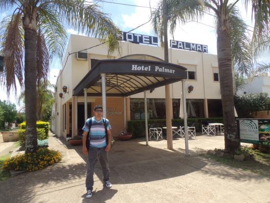 Hotel Palmar: entrada