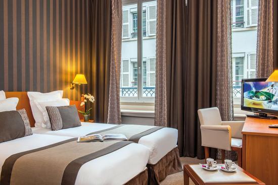 Hôtel Provinces Opéra : Chambres Hotel Provinces Opéra Paris