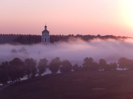Shelkovo, Russland: Туманное утро