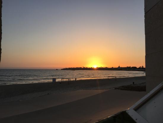 Acco Beach Hotel: Sunset over Acre