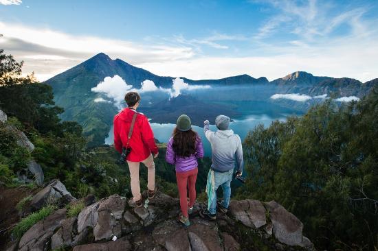 Indonesia: Lombok - Segara Anak Lake