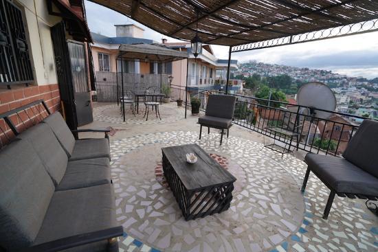La Maison du Pyla: Roof terrace