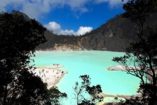 باندونج, إندونيسيا: Bandung - Kawah Putih/ White Carterl