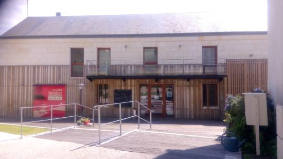 "Saint Patrice, Francia: Restaurant ""Les Petites Terrasses"""