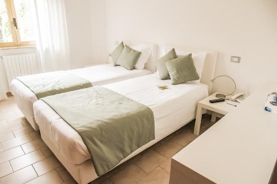 Hotel Green Park Madama: Camera da letto twin