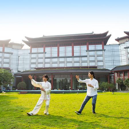Shangri-La Hotel Guilin: 花园活动