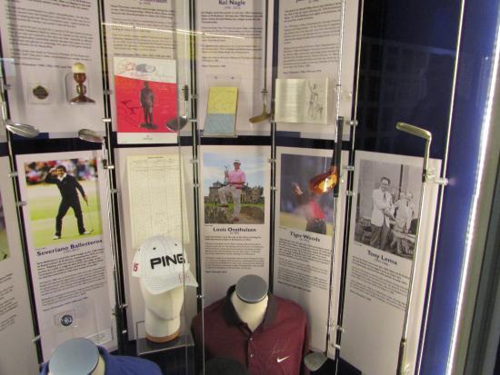 British Golf Museum: Display