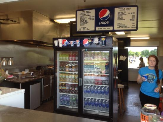 Hilton, NY: Grace & Truth Park - Refreshment stand