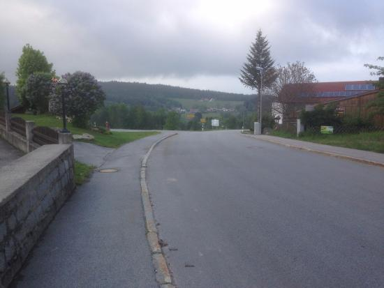 Pension Sonnenhof: View from next to Sonnenhof