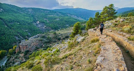 Laujar de Andarax, Spain: Senda de la Hidroelectrica