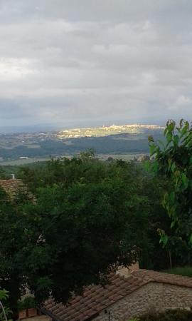 Residenza d'Epoca La Costa : Siena illuminata dal Sole al Tramonto