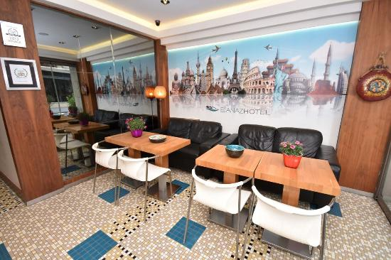 Elanaz Hotel Istanbul: Lobby