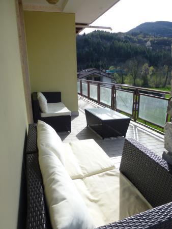 terrazzo attrezzato - Foto di La Ca et Mec, Robilante - TripAdvisor