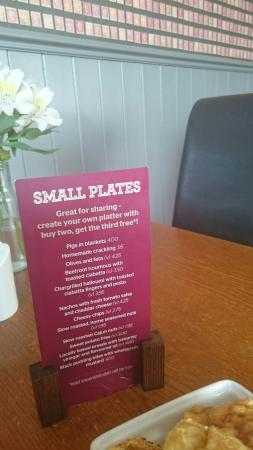 The Coach House Inn: The small plates are massive portions here