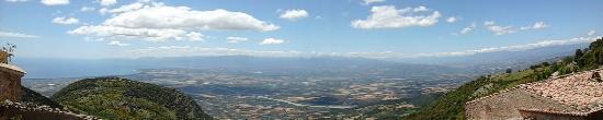 Cerchiara di Calabria, อิตาลี: Panoramica 180 gradi