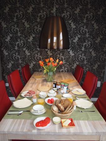 Wehe-Den Hoorn, Ολλανδία: Ontbijtkamer