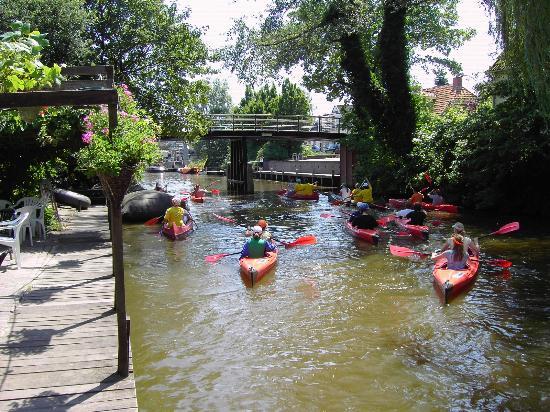 Wehe-Den Hoorn, Ολλανδία: kano's voor de deur