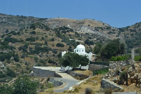 Naxos, Grèce : Aghia Irini Church