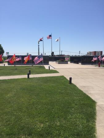 Kingdom City, MO: The Fire Fighters Memorial