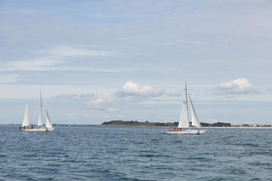 Morbihan, França: Balade nautique avec Paulo et Paulette, les deux Mentor du club