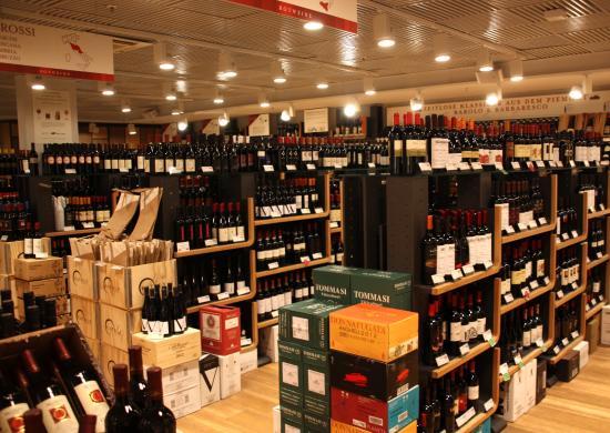 Schrannenhalle: hier findet jeder einen Wein!