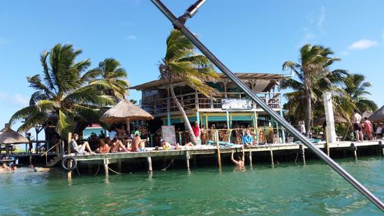 Bar The Split Caye Caulker Belize Picture Of The Split Caye