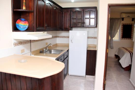 Kitchen Sosua Horizon Apartments