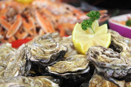 Cleon, France: Fruits de mer