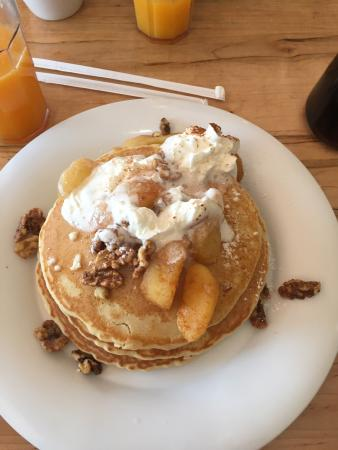 Chocolate chip pancakes - Picture of Stacks Kitchen, Waxhaw ...