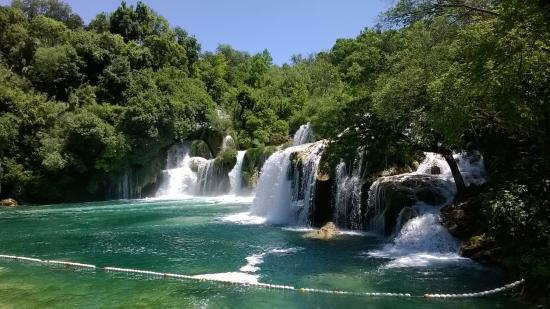 Zivogosce, Croacia: Krka Waterfalls