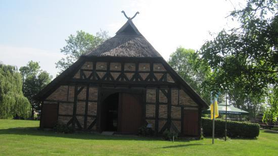 Ribnitz-Damgarten, Allemagne : Gaststätte in der Mitte des Freilischtmuseums