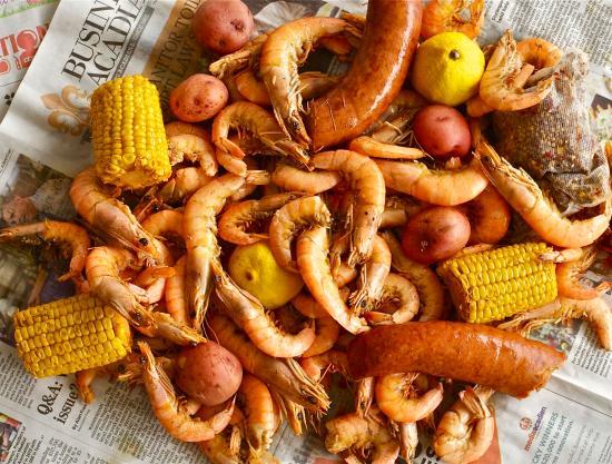 Rue Dumaine : June 30th Shrimp boil