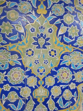 BEST WESTERN PREMIER Senator Hotel: Tile detail from the nearby mosque
