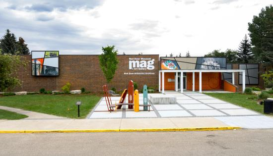 ‪Red Deer Museum + Art Gallery‬