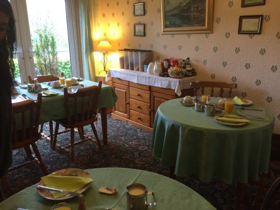 Stobahn Bed & Breakfast: Petit-déjeuner