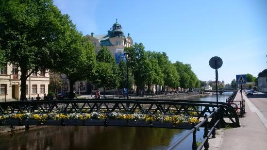 Uppsala, Schweden: View from river