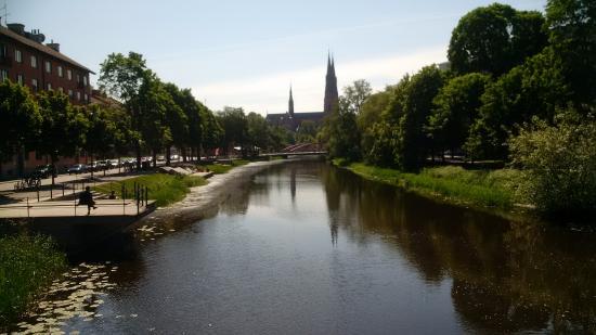 Uppsala, Schweden: The town