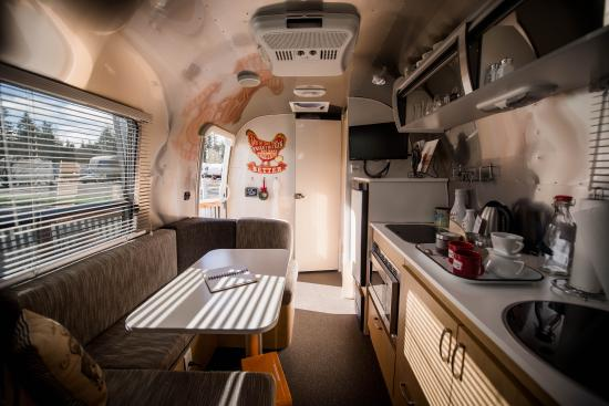 The Vintages Trailer Resort Airstream Bambi Interior
