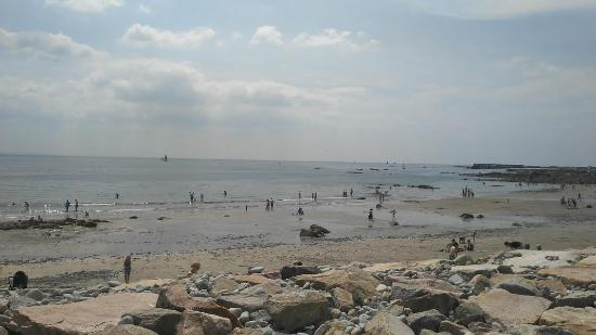 Tigh Giblin : The beach nearby busy a different day